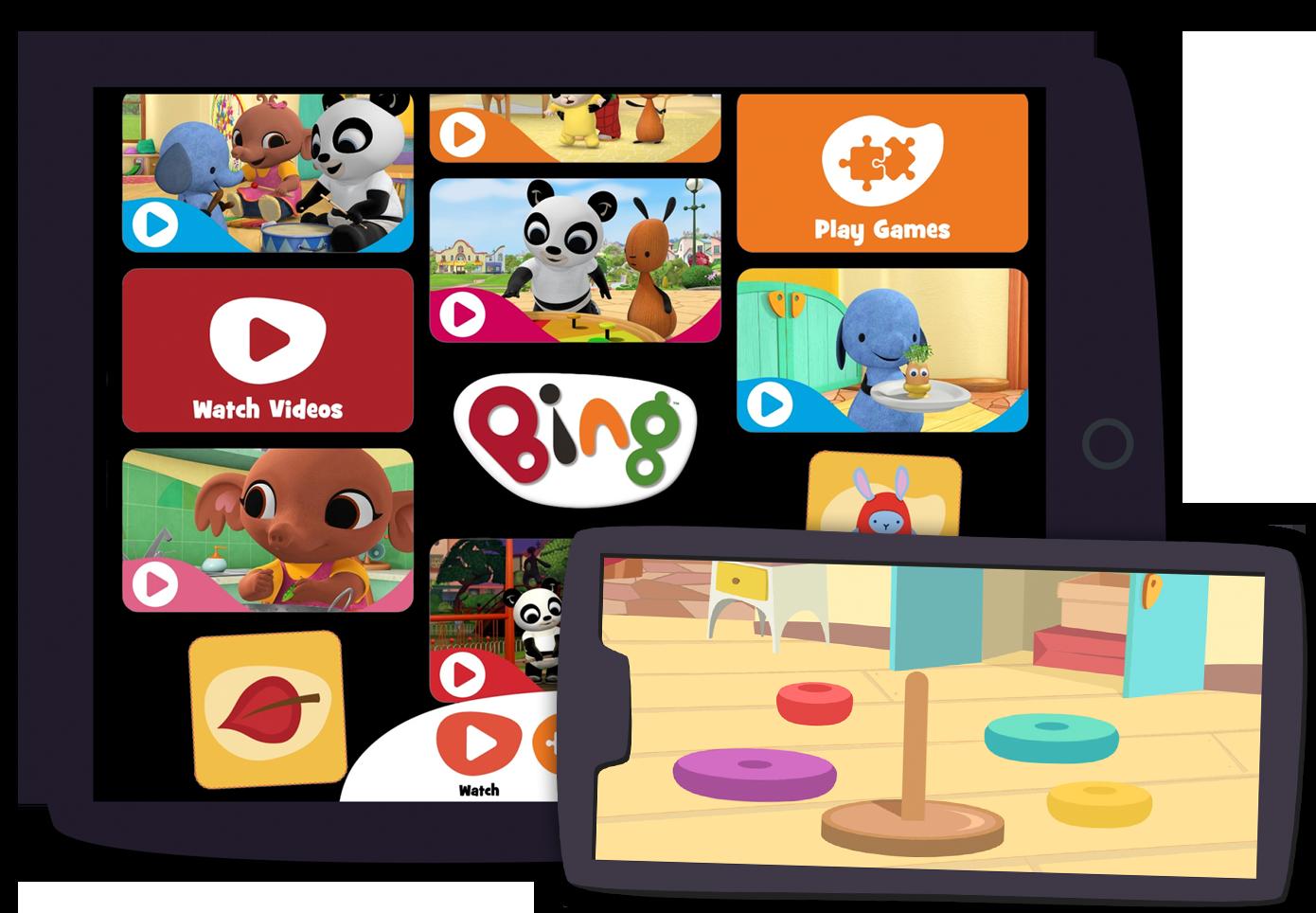 Bing: Watch Play Learn App